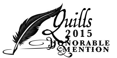 A signature for Quills honorable mention winners to use