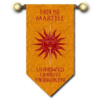 House Martell image for G.o.T.