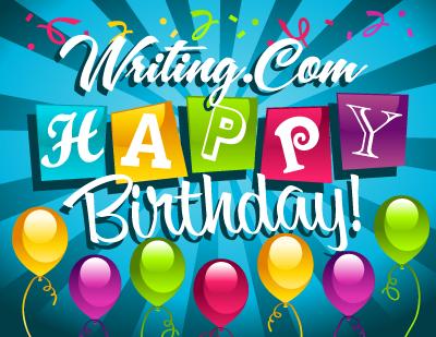 Writing.Com Happy Birthday!