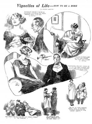 Vignettes by Frank Godwin