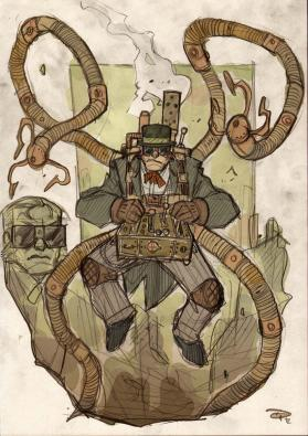 Inspirational image for Steampunk Detectives character contest