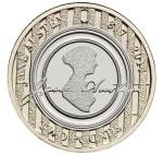 Jane Austen coin in England.