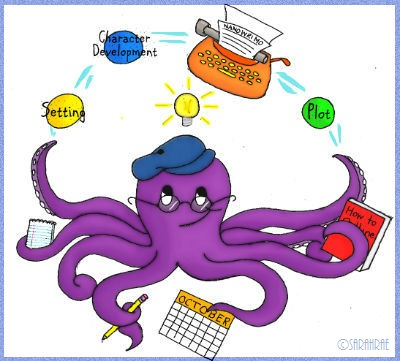 The juggling octopus that embodies October Prep month.