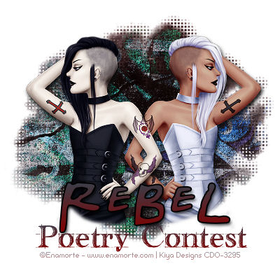 Banner for the Rebel Poetry contest