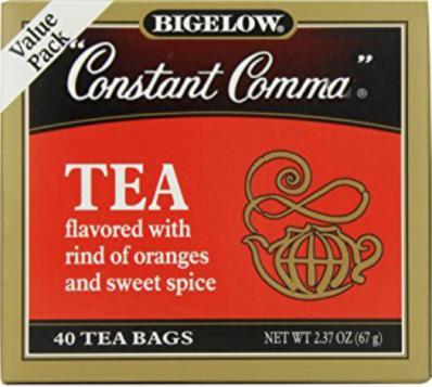 Enjoy a cup of tea, which has been prepared in honor of Mrs. Winnie's Comma Sense Class.