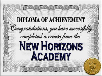 Diploma for Course Completion