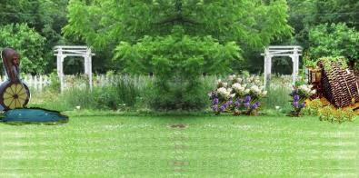Garden 3 fountain