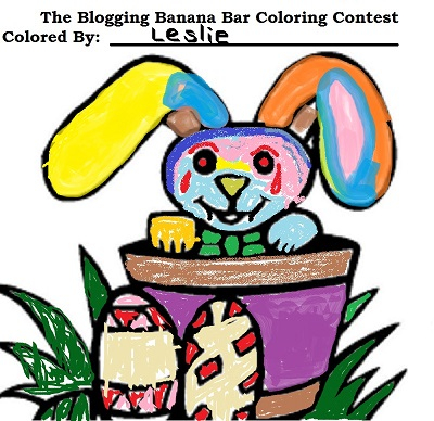 Coloring Contest Entry by: Leslie