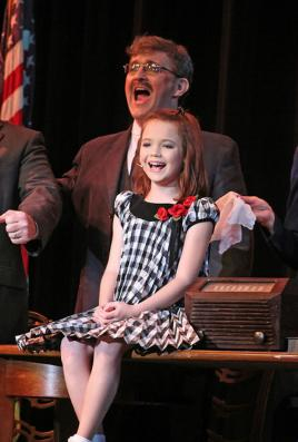 I played one of FDR's Cabinet Members in Annie, the Musical in April of 2012.