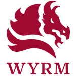 WYRM's Logo as a badge for members.