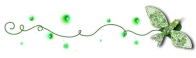 A green divider