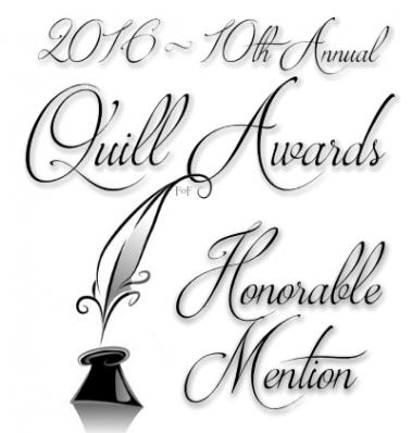 Image for use by Honorable Mentions in the 2016 Quill Awards