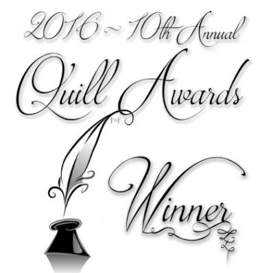 Signature for winners of the 2016 Quill Awards