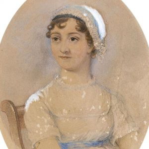 A painting of Jane that was painted by artist James Andrews.