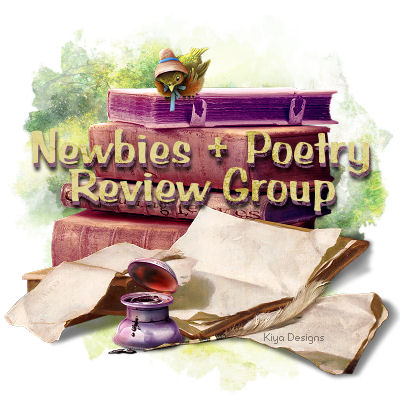 For the reviewing section of the Newbies + Poetry Group