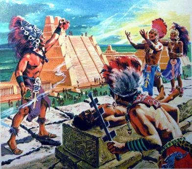 A Mayan Sacrifice