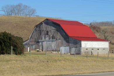 A barn I saw out driving