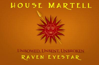 For GAME of THRONES. The Martell Sun shines on everyone!