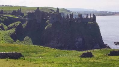 A photograph of a castle.