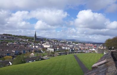 A photograph of Derry.