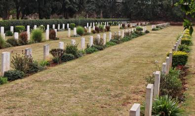 War Graves, Harare's Pioneer Cemetery
