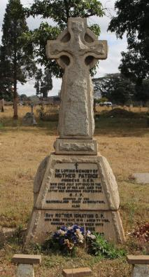 Mother Patrick's Grave, Harare Pioneer Cemetery