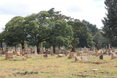 Catholic Graves, Harare's Pioneer Cemetery