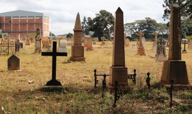 Anglican Graves, Harare's Pioneer Cemetery