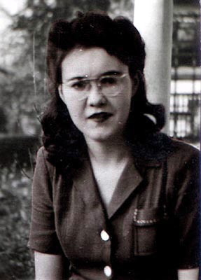 Photo of Mom from the 40's. Most likely in South Dakota.