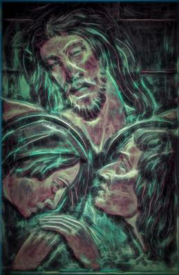 Digital image of Christ