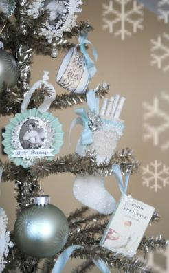 Jane Austen Christmas Tree Image