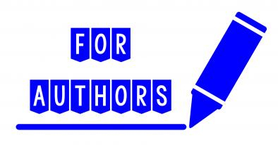 A header image for my official For Authors Newsletters