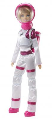 I am an Astronaut Barbie for Space Junkies.