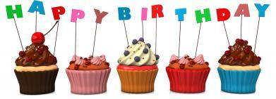 HBD Cupcakes
