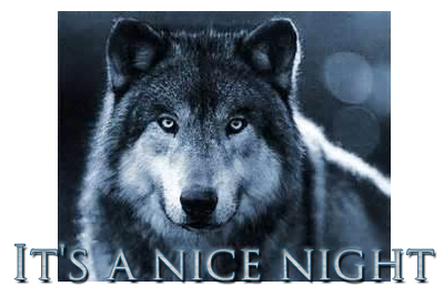 Yet another wolf image.