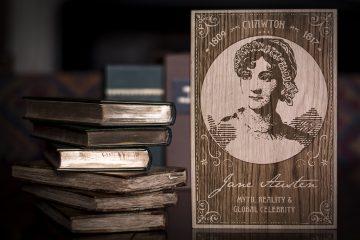 Jane Austen and books image Sig.