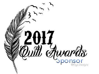A signature for those who sponsored the 2017 Quill Awards