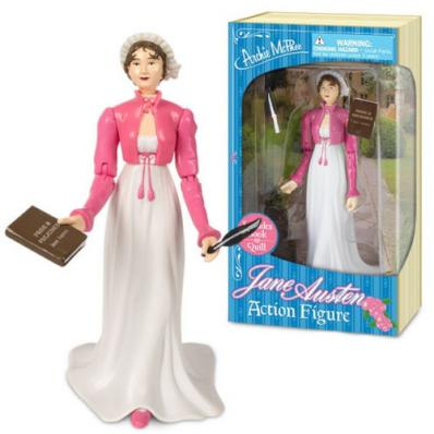 My Jane Austen Doll I ordered complete with P&P Book and Quill. One of my favorite items