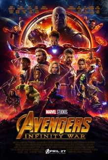 Poster for Infinity War