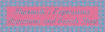 Sharmelle's Expressions: Signatures & Ecard Shop Logo