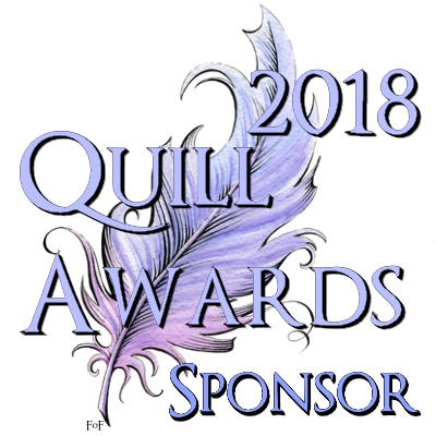 Signature image for sponsors of the 2018 Quill Awards