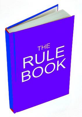 Rule Book Image for Second Time Around Contest.