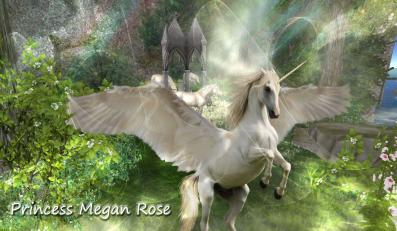 A beautiful image for Unicorns Newsletter by best friend Angel.