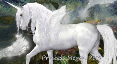 Angel Unicorn image by best friend Angel for newsletter.