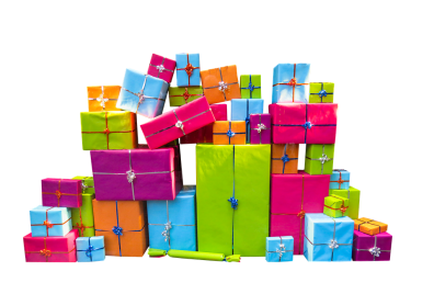 Gifts for the surprise party