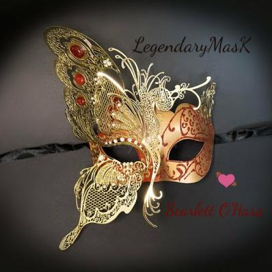 Scarlett's Masquerade Butterfly Mask