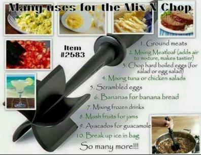 Mix 'N Chop--Many Uses
