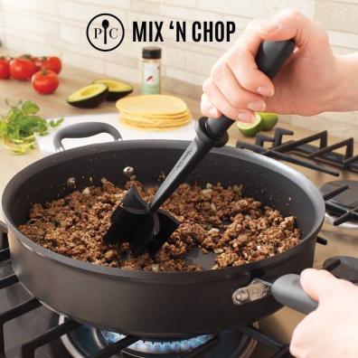 Mix 'N Chop with Ground Beef