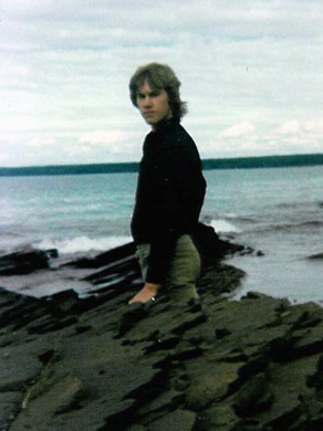 Taken May, 1982 during vacation on the Keweenaw Peninsula on Lake Superior.