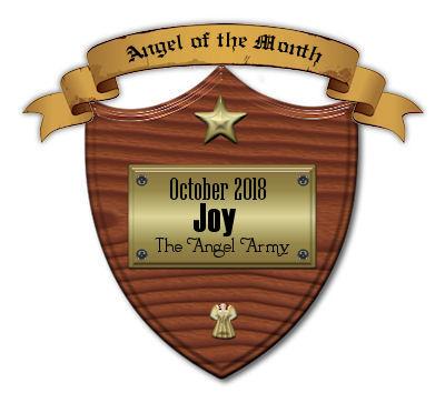 October plaque -Kiya's gift